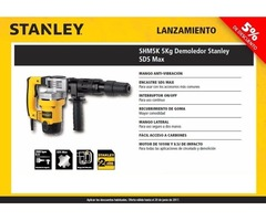 MARTILLO DEMOLEDOR STANLEY
