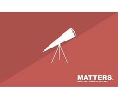 Matters. Marketing, comunicación, diseño y web