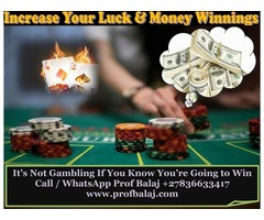 Powerful Gambling Spells | Spell to Win Money at the Casino - Gamblers Good Luck Charms for Winning
