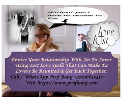 Lost Love Spells to Bring Back a Love - Bring Back Lost Love 24 hours Call +27836633417