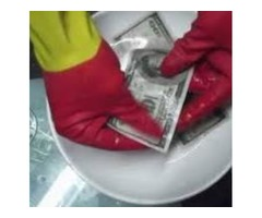 SSD SOLUTION CHEMICAL FOR CLEANING BLACK MONEY NOTES AND AUTOMATIC BLACK MONEY CLEANING MACHINE