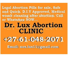 In Pretoria^⏩^+27 61 O4 82 07 1) :  ABORTION PILLS FOR SALE 100%GUARANTEED SAFE EAST LYNNE ▼